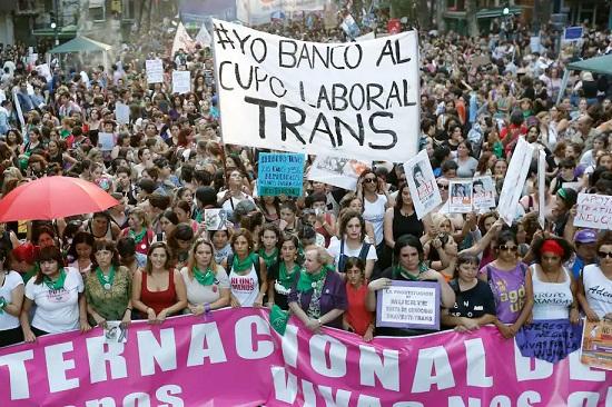 OPINIÓN: PARA LAS PERSONAS TRAVESTIS Y TRANS EN ARGENTINA