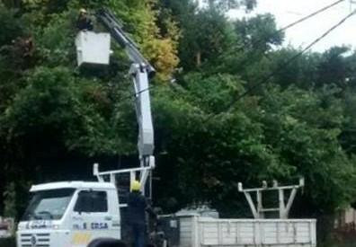 El Bolsón: Corte de luz este viernes en Ruta 40 Norte y Mallín Ahogado