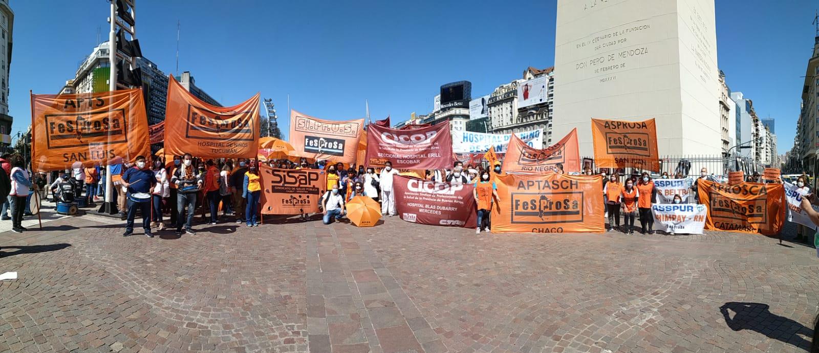 Nación: Trabajadores de la salud pública serán recibidos por el Presidente Fernandez