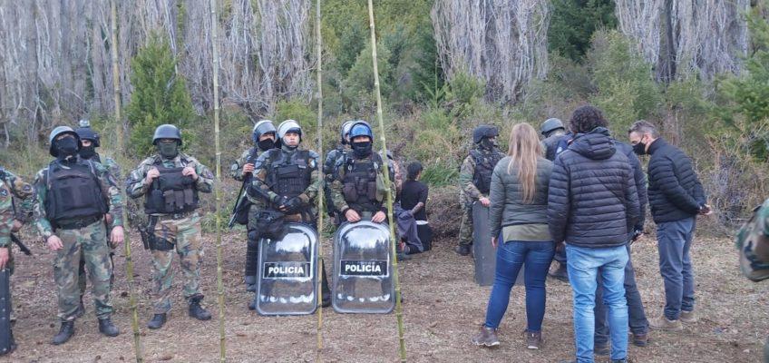 Fue desalojado el campo en Cuesta del Ternero en El bolsón