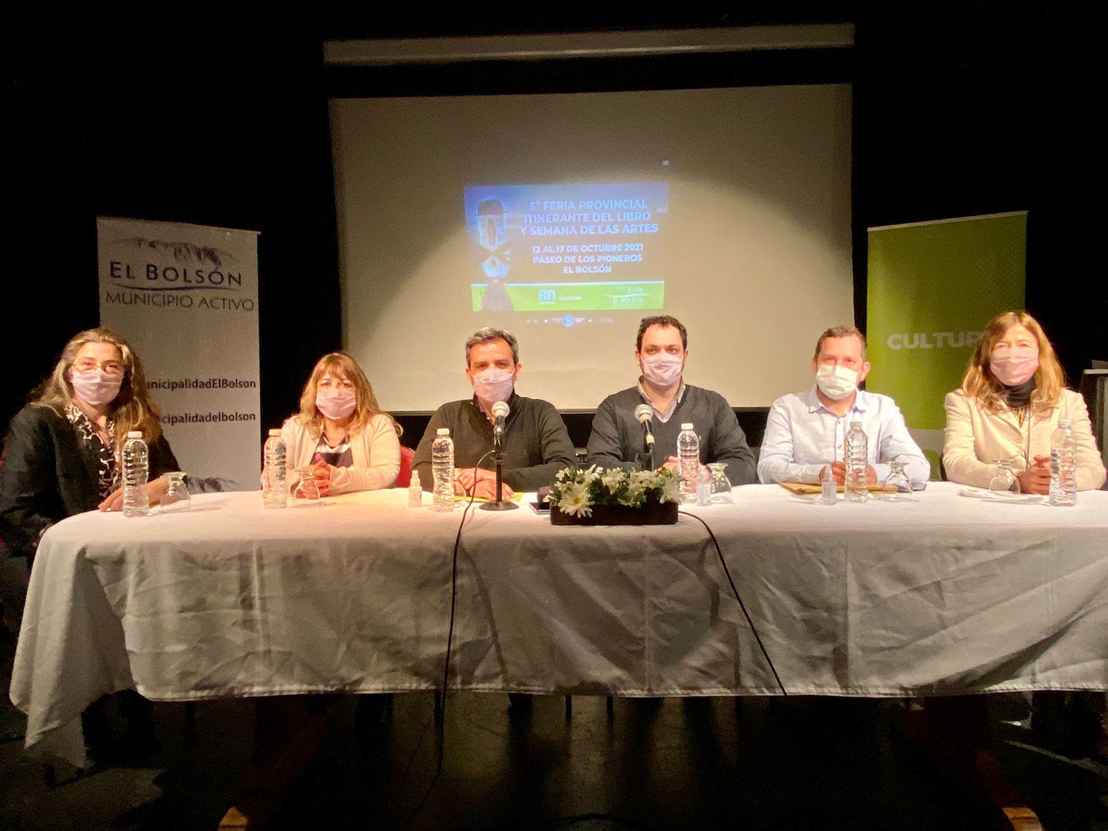 El Bolsón: Lanza la 5° Feria Provincial Itinerante del Libro y Semana de las Artes