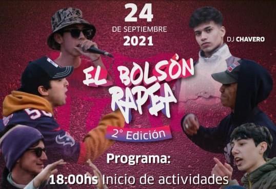 """Este viernes llega la esperada Batalla de Gallos al escenario de """"El Bolsón Rapea"""""""