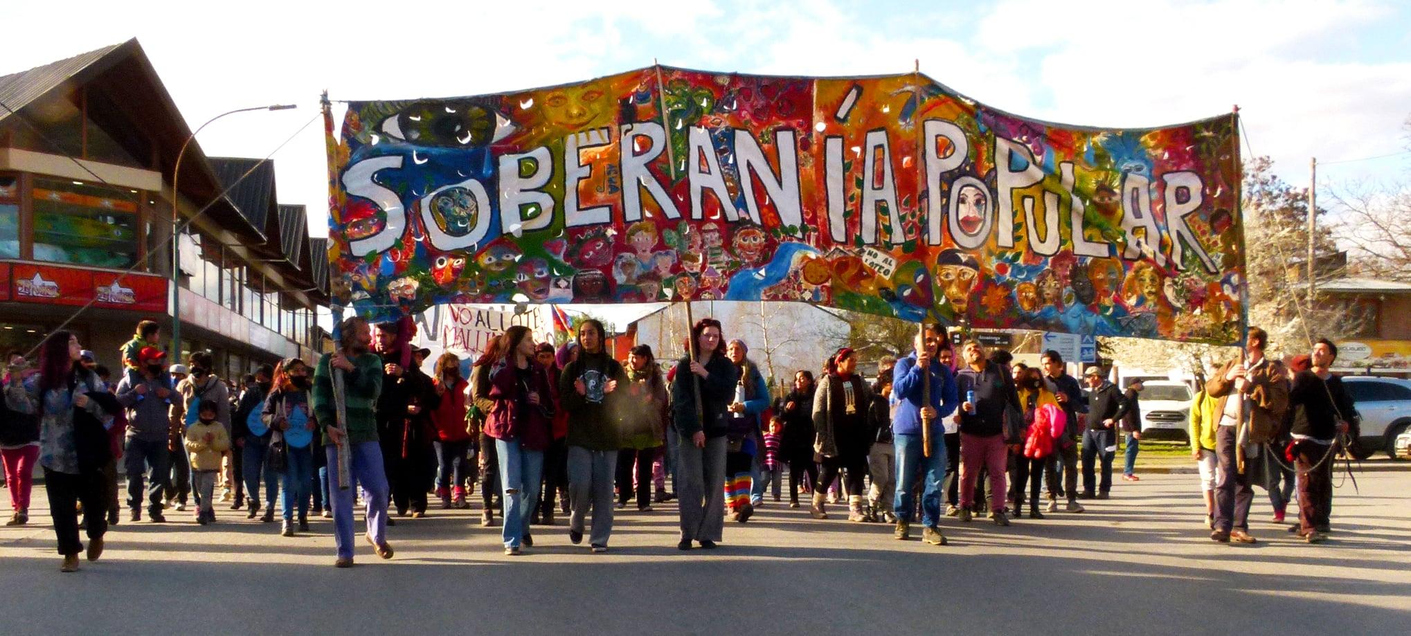 Multitudinaria manifestación el sábado en contra de la urbanización en Pampa de Ludden