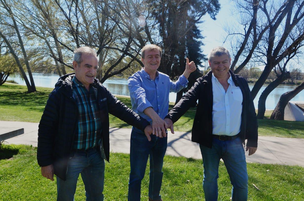 En Río Negro Jalabert (UCR) expresó su apoyo a Tortoriello (PRO)