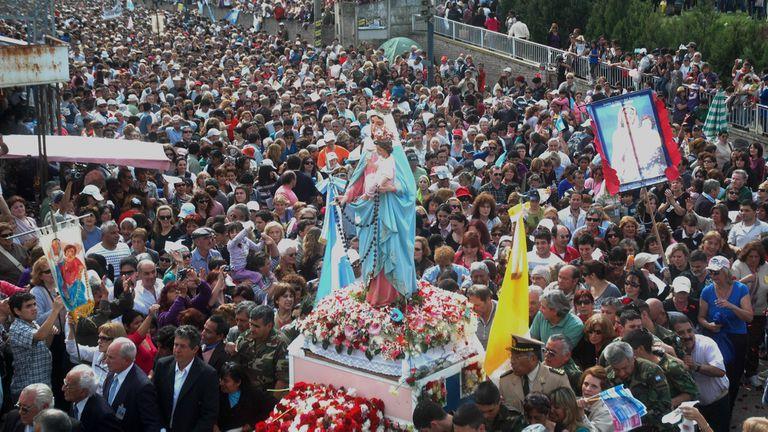 Virgen del Rosario de San Nicolás: Peregrinación que vuelve a la presencialidad