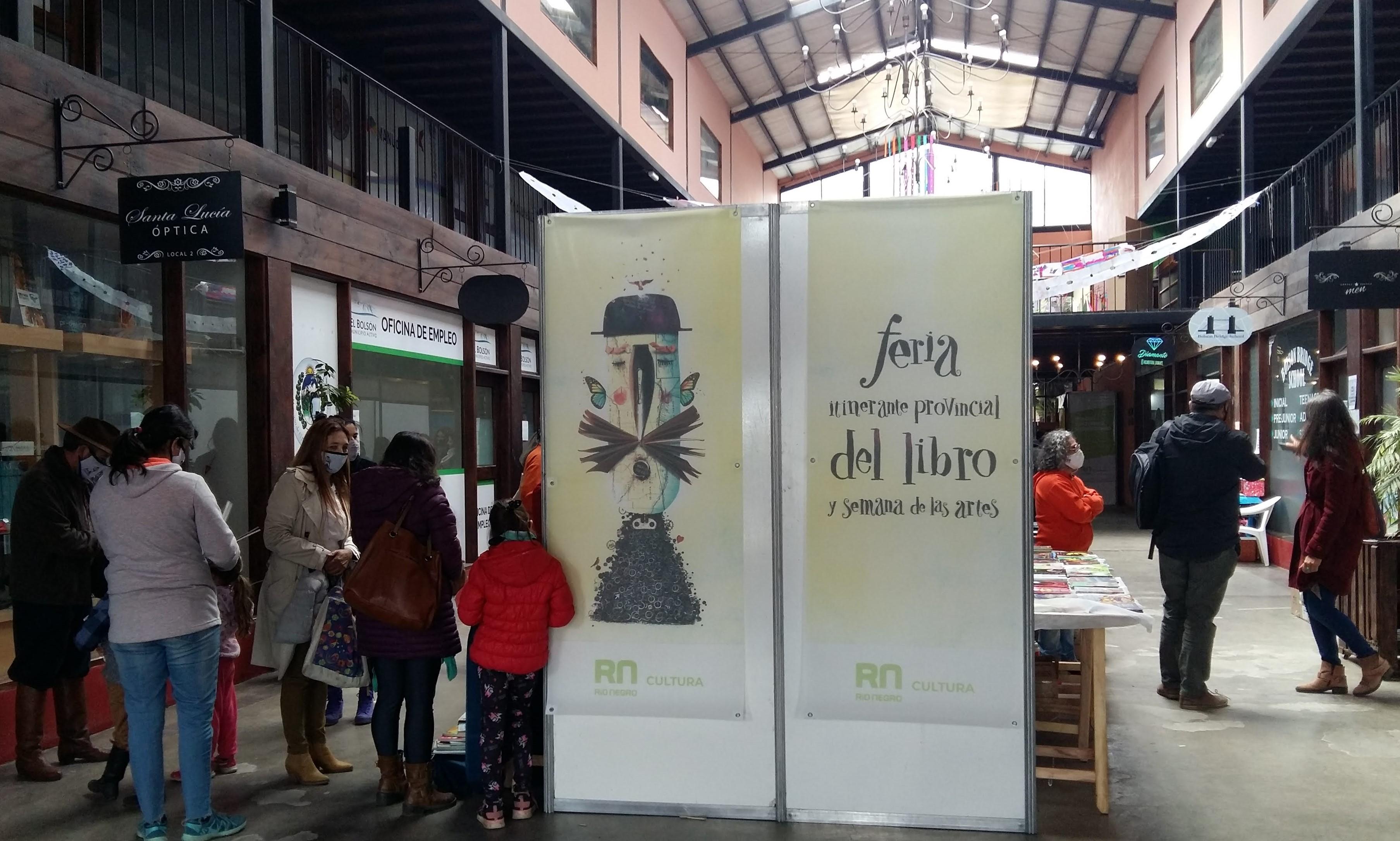 Con éxito de público cerró ayer la 5a Edición de la Feria Provincial Itinerante del Libro y las Artes