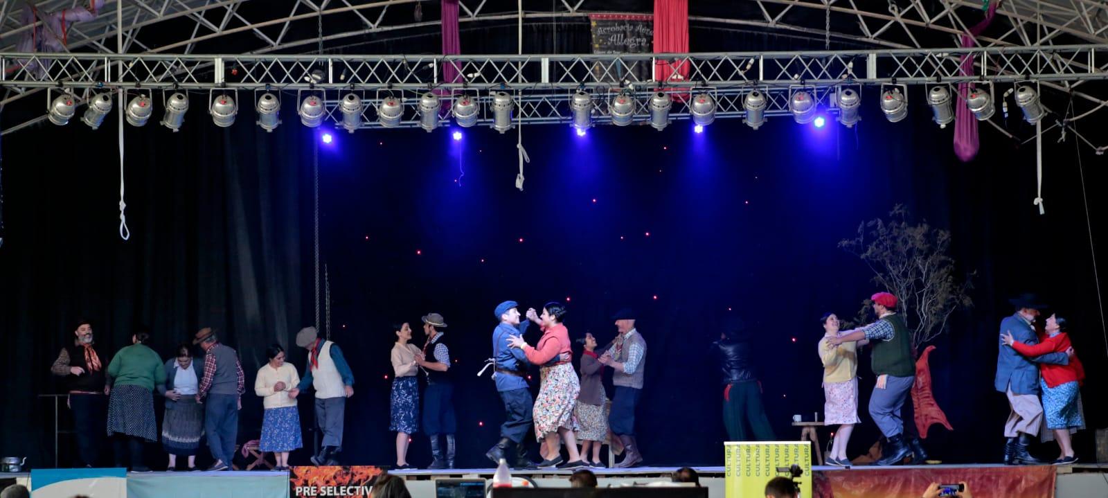 Raíces Sureñas de El Bolsón arrasó con los puntajes en el certamen Nacional de Folclore